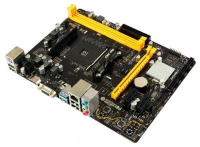 Материнская плата Biostar A320MH microATX (mATX), чипсет AMD A320 • 1x AM4 • 2x DDR4 @ 2933 МГц (до 32 Гб) — купить за 3735 руб.