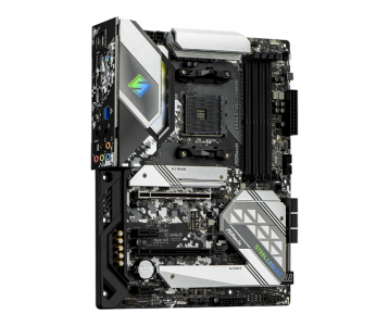 Материнская плата ASRock B550 Steel Legend ATX, чипсет AMD B550 • AM4 • 4x DDR4 (до 128 Гб) — купить за 14265 руб.