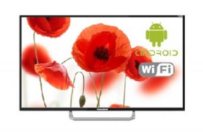 "ЖК-телевизор Telefunken TF-LED43S40T2S, black ЖК-телевизор, 43"", 1920x1080 (16:9) • Smart TV есть — купить за 15155 руб."