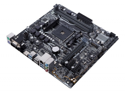 Материнская плата Asus Prime A320M-K microATX (mATX), чипсет AMD A320 • 1x AM4 • 2x DDR4 @ 3200 МГц (до 32 Гб) — купить за 3965 руб.