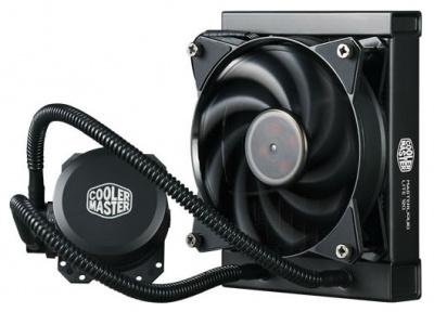 СВО Cooler Master MasterLiquid Lite 120 для процессора • СЖО: да • Вентилятор(ы): 1 (120x120x25 мм) • 4-pin PWM — купить за 3365 руб.