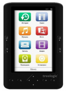 "Электронная книга Treelogic Arcus 501 4Gb 5"" Black"
