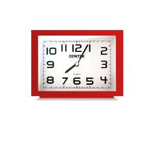 Часы-будильник Centek СТ-7202, red