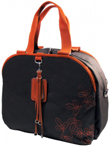 "Сумка Samsonite 11A-041-13 15.6"" Black-Orange"